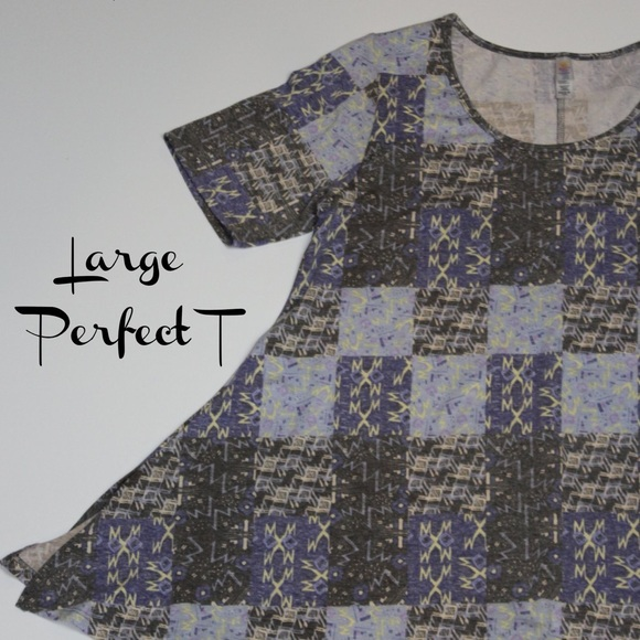 LuLaRoe Tops - LuLaRoe Large Perfect T
